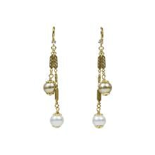 "John Wind - 3"" Swing Cotton Pearl Earring"