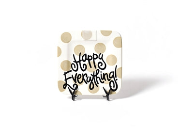 NEUTRAL DOT HAPPY EVERYTHING MINI PLATTER