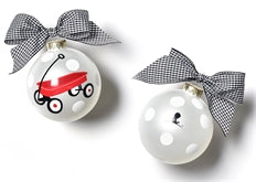 Limited Edition 2019 St. Jude Glass Ornament - Red Wagon