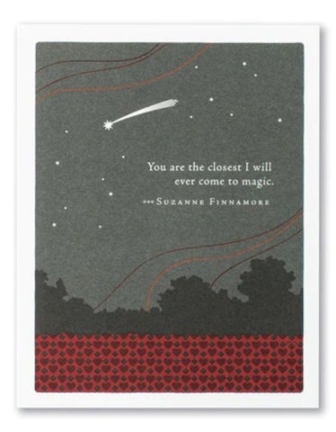 Valentine's Day Card - You are the closest