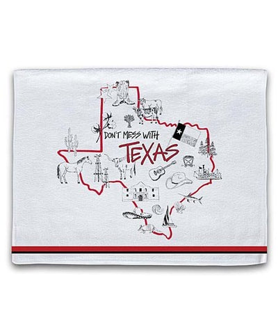 Texas Hand Towel