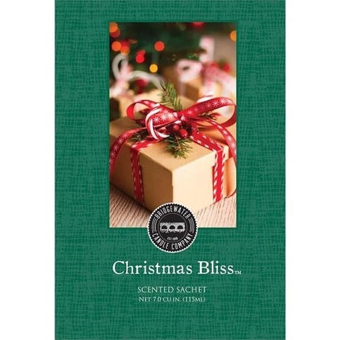SCENTED SACHETS CHRISTMAS BLISS