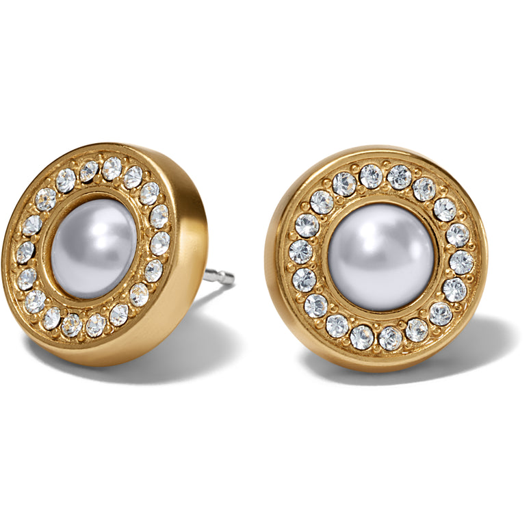 Meridian Pearl Post Earrings