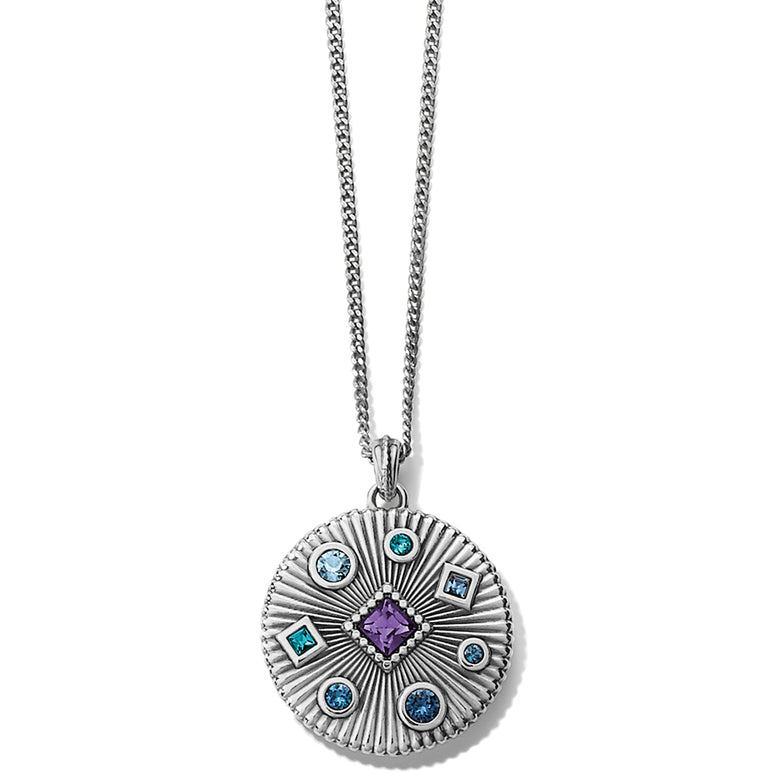 Halo Rays Petite Necklace
