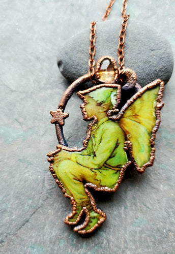 The Elm Tree Fairy Pendant
