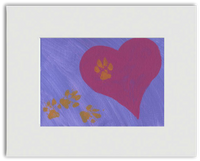 "Ready-to-Frame Print ""Free To Be Loved"" - Art by Teddy"