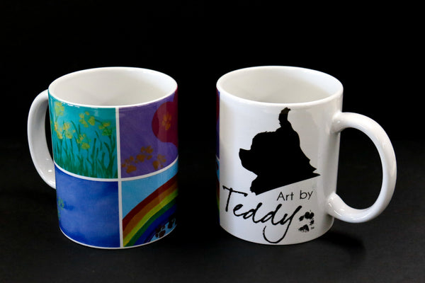 "Coffee Mug - ""Art by Teddy"""