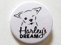 Harley's Dream Logo Pin-Back Button