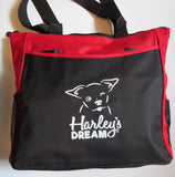 Harley's Dream Tote Bag - Red/Black