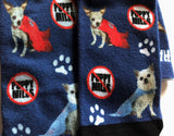 "Harley & Teddy Socks ""NO Puppy Mills"""