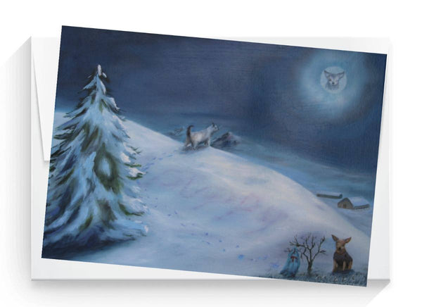Holiday Cards - The Lone Teddy (set of 6)