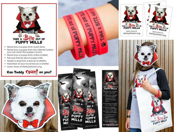 Trick-or-Treat Awareness Kit - Take a Bite out of Puppy Mills
