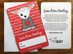 Valentine's Cards - Love Like Harley (set 25)