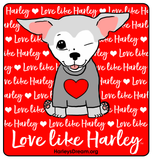 Tank Top (Unisex, White) - Love Like Harley
