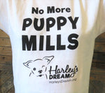 No More Puppy Mills T-Shirt - White