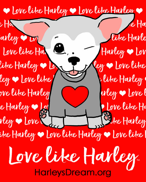 Stickers (50 pack) - Love Like Harley