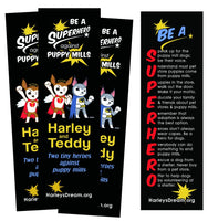 Bookmarks (100 pack) - Be a Superhero Against Puppy Mills