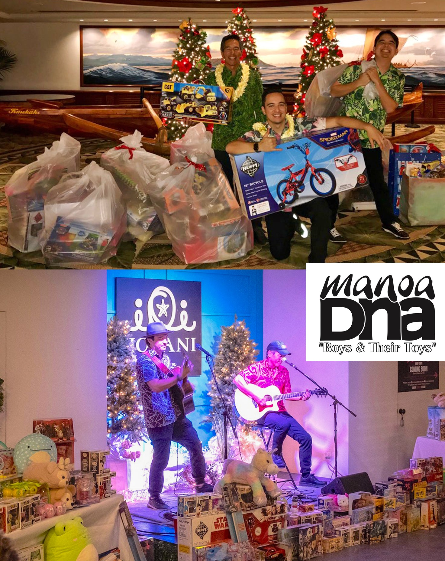 Manoa DNA Toy Drive