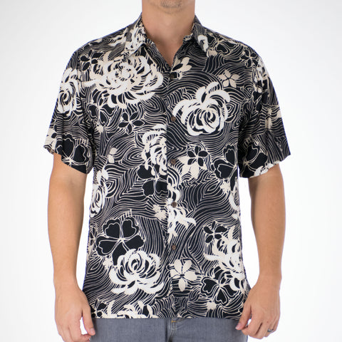 FLOATING MUM MODERN FIT ALOHA SHIRT