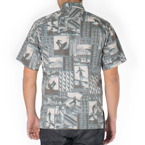 HANG TEN MODERN FIT ALOHA SHIRT