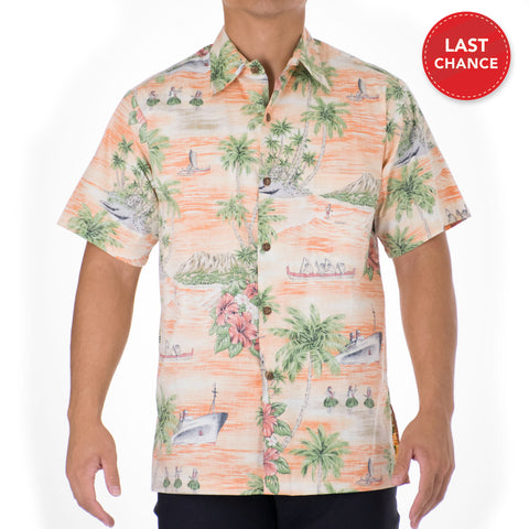 PORT OF ALOHA MODERN FIT ALOHA SHIRT