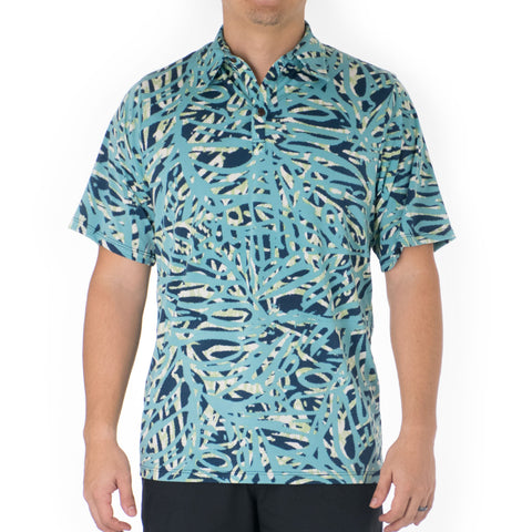 AKA ALOHA POLO KNIT SHIRT