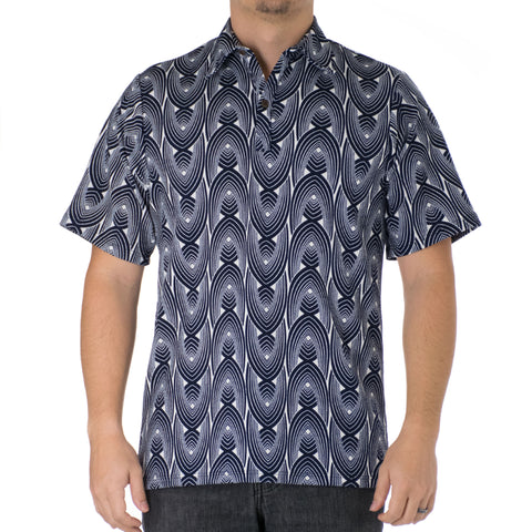 KUPIPI ALOHA POLO KNIT SHIRT