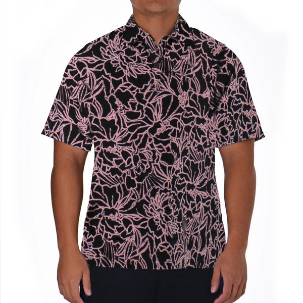 CAMELIA ALOHA POLO KNIT SHIRT