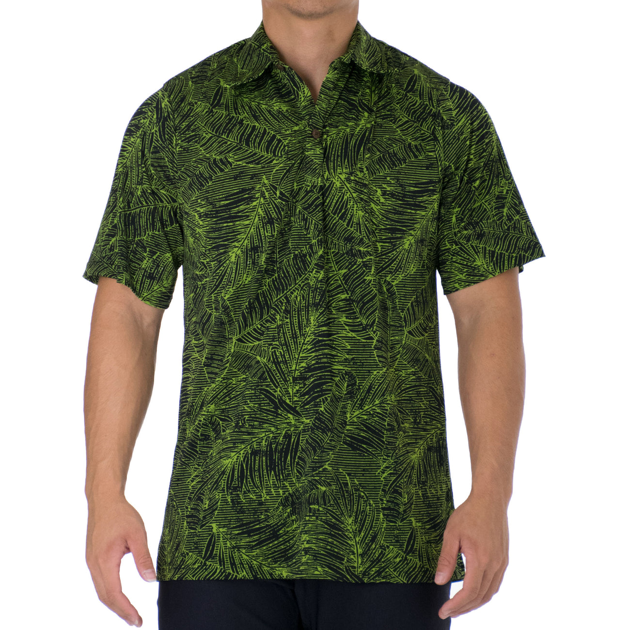 KAMA ALOHA POLO KNIT SHIRT