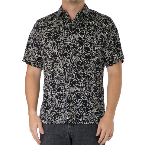 LUSH ALOHA POLO KNIT SHIRT
