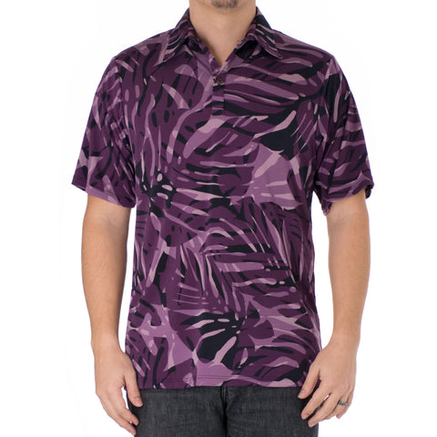 MAIYA ALOHA POLO KNIT SHIRT