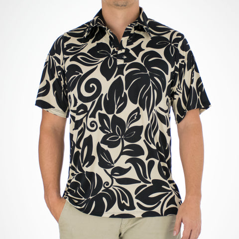 MO'OREA ALOHA POLO KNIT SHIRT