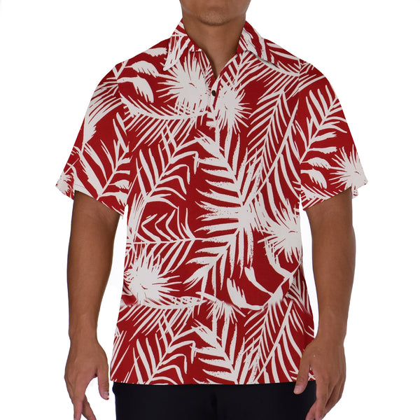 KIANA ALOHA POLO KNIT SHIRT