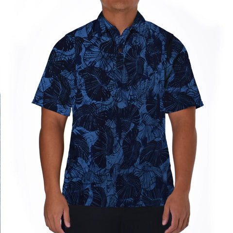 TROPICAL TUMBLE ALOHA POLO KNIT SHIRT