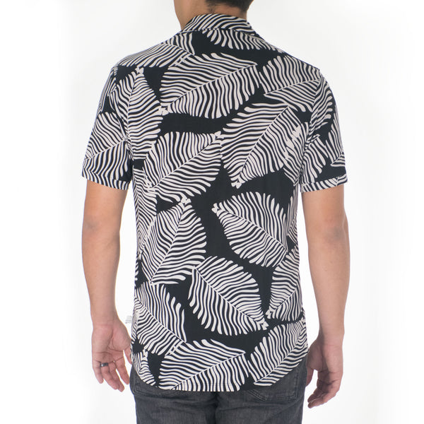 KUPUKUPU KNIT BUTTON-DOWN SHIRT