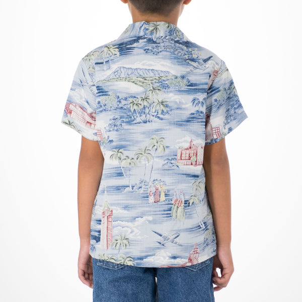 ALOHA TOWER TODDLER SHIRT