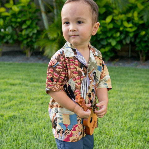 'IOLANI TODDLER SHIRT w/ Free 'IOLANI Mask