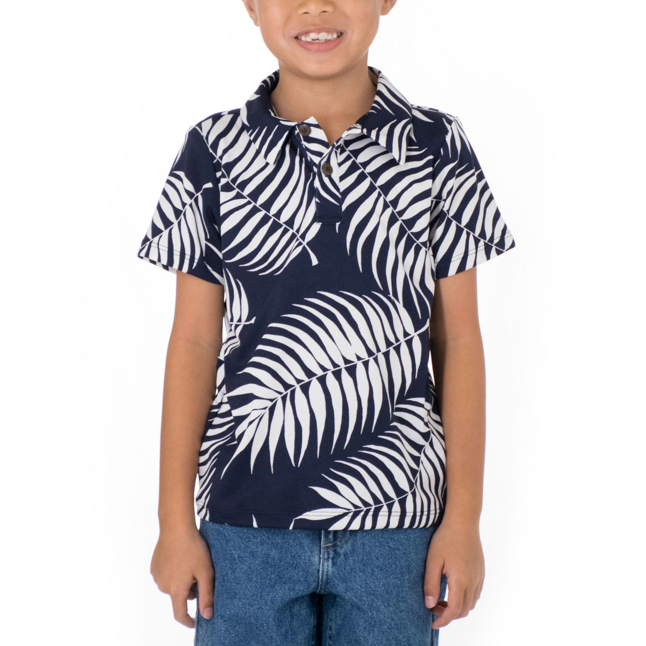 LI'I BOYS KNIT POLO