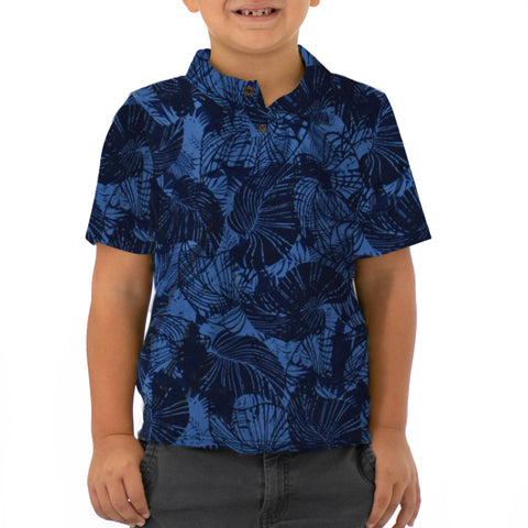 TROPICAL TUMBLE BOYS KNIT POLO