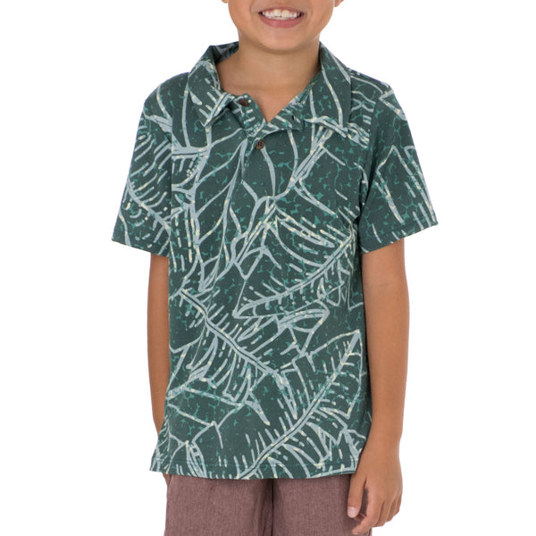 WAIPIʻO BOYS KNIT POLO