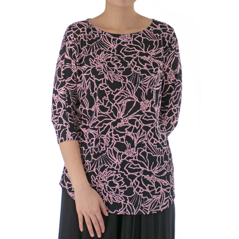 CAMELIA DOLMAN SLEEVE TOP