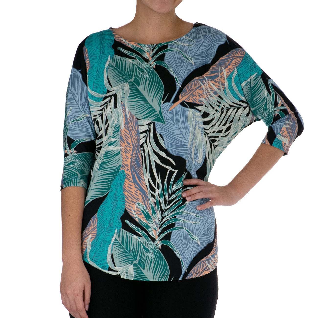 WAILEA DOLMAN SLEEVE TOP
