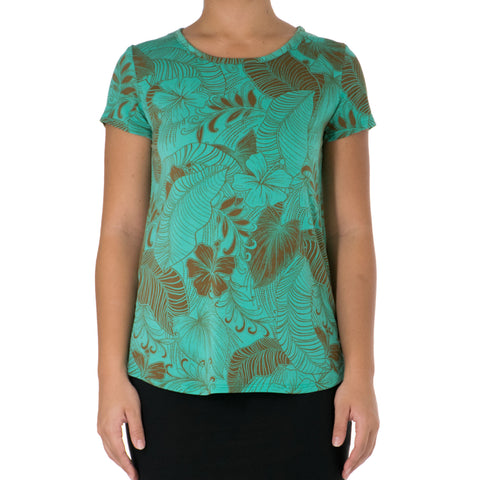 AINAHAU SCOOP NECK TEE
