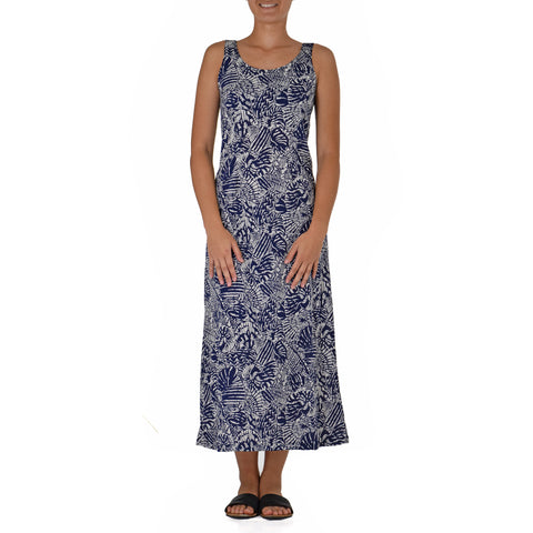PŪPŪ HINU HINU LONG TANK KNIT DRESS