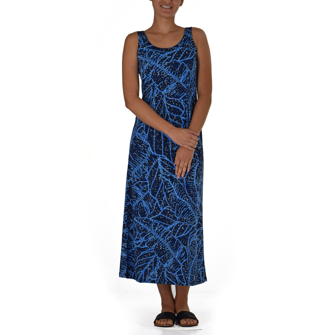 WAIPI'O LONG TANK KNIT DRESS