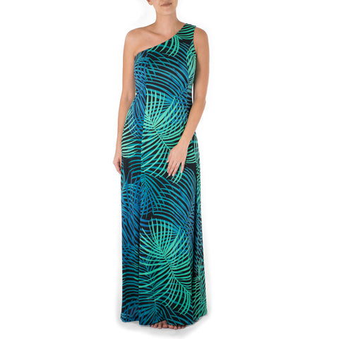 HAILI ONE SHOULDER HULA DRESS