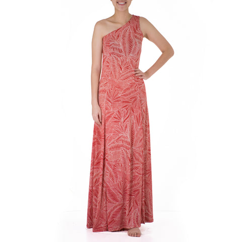 LAKA ONE SHOULDER HULA DRESS