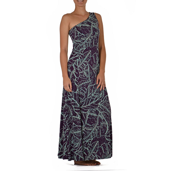 WAIPIʻO ONE SHOULDER HULA DRESS