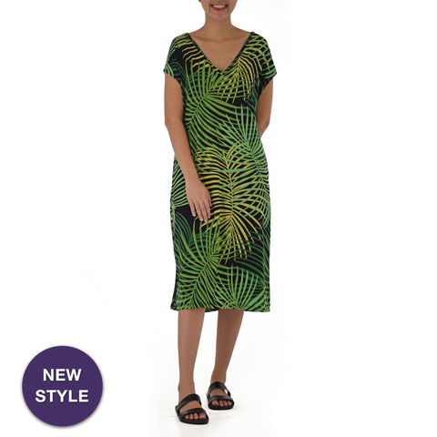 HAILI CAFTAN KNIT DRESS