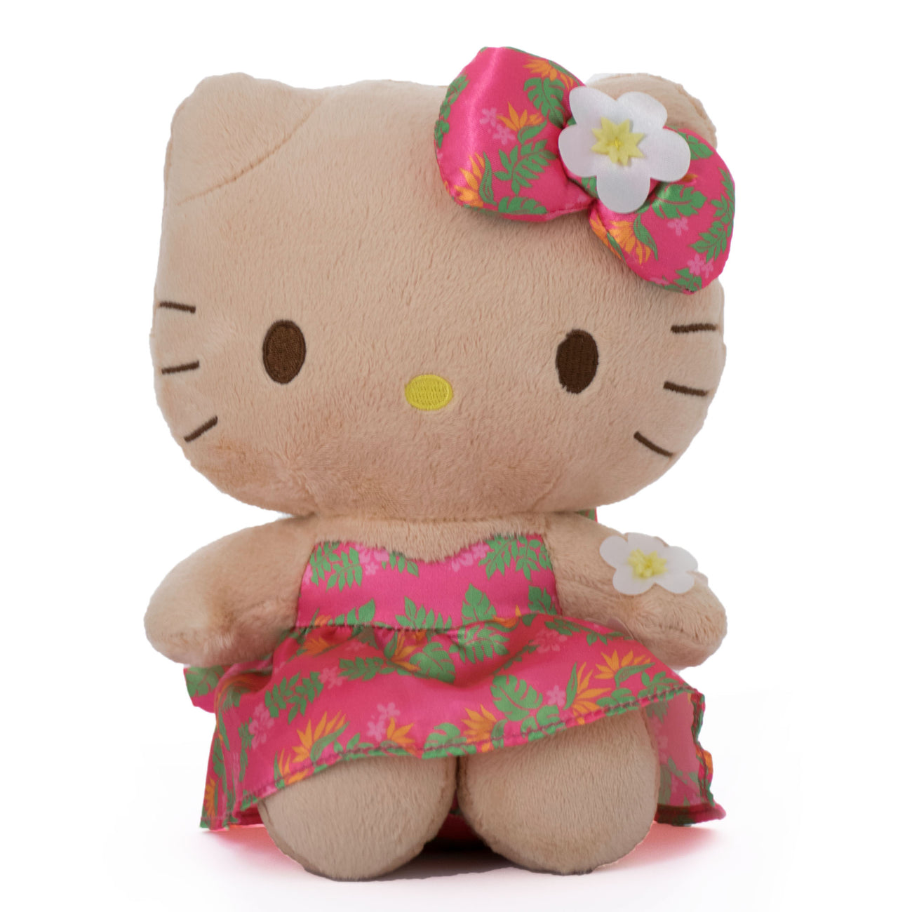 "'IOLANI x HELLO KITTY PUAMANU PINK 8"" PLUSH"